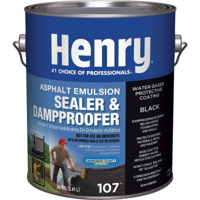 Henry 1 Gal. 1 Gal. Non-Fibered Asphalt Roof Coating