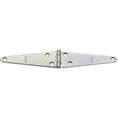 National 5 In. Zinc Light Strap Hinge