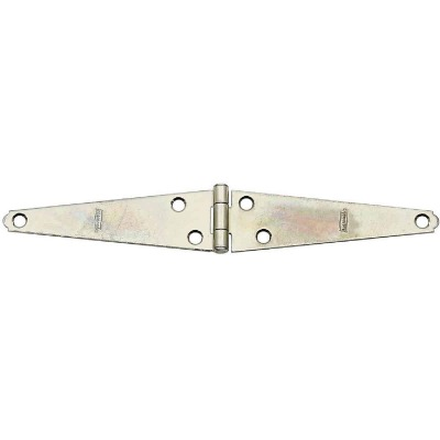 National 5 In. Zinc Light Strap Hinge (2-Pack)