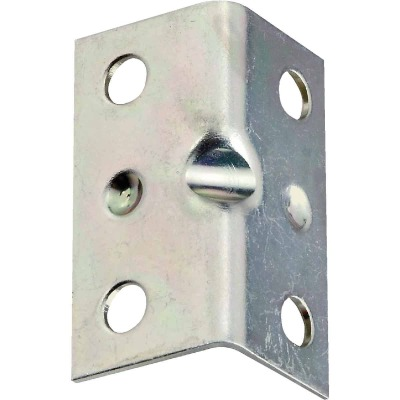 National Catalog V113 Series 1-1/2 In. x 3/4 In. Zinc Corner Brace (4-Count)