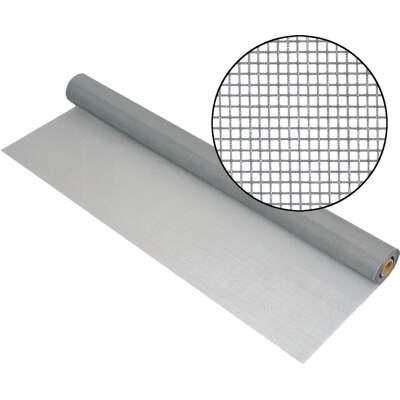 Phifer 30 In. x 100 Ft. Gray Fiberglass Mesh Screen Cloth