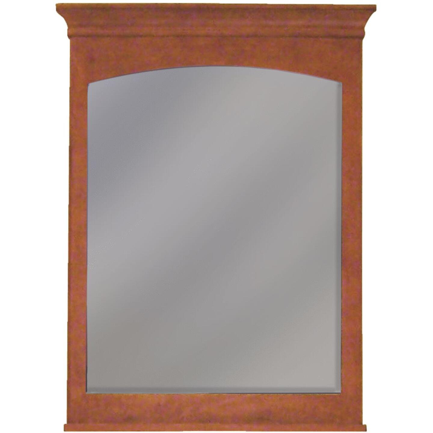 Sunny Wood Expressions Cinnamon 30 In. W x 40 In. H Vanity Mirror Image 1