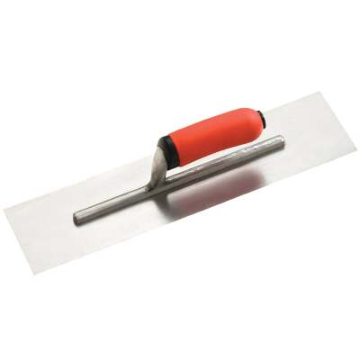 Do it Best 4 In. x 16 In. Finishing Trowel with Ergo Handle
