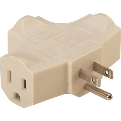 Do it Beige 15A 3-Outlet Tap