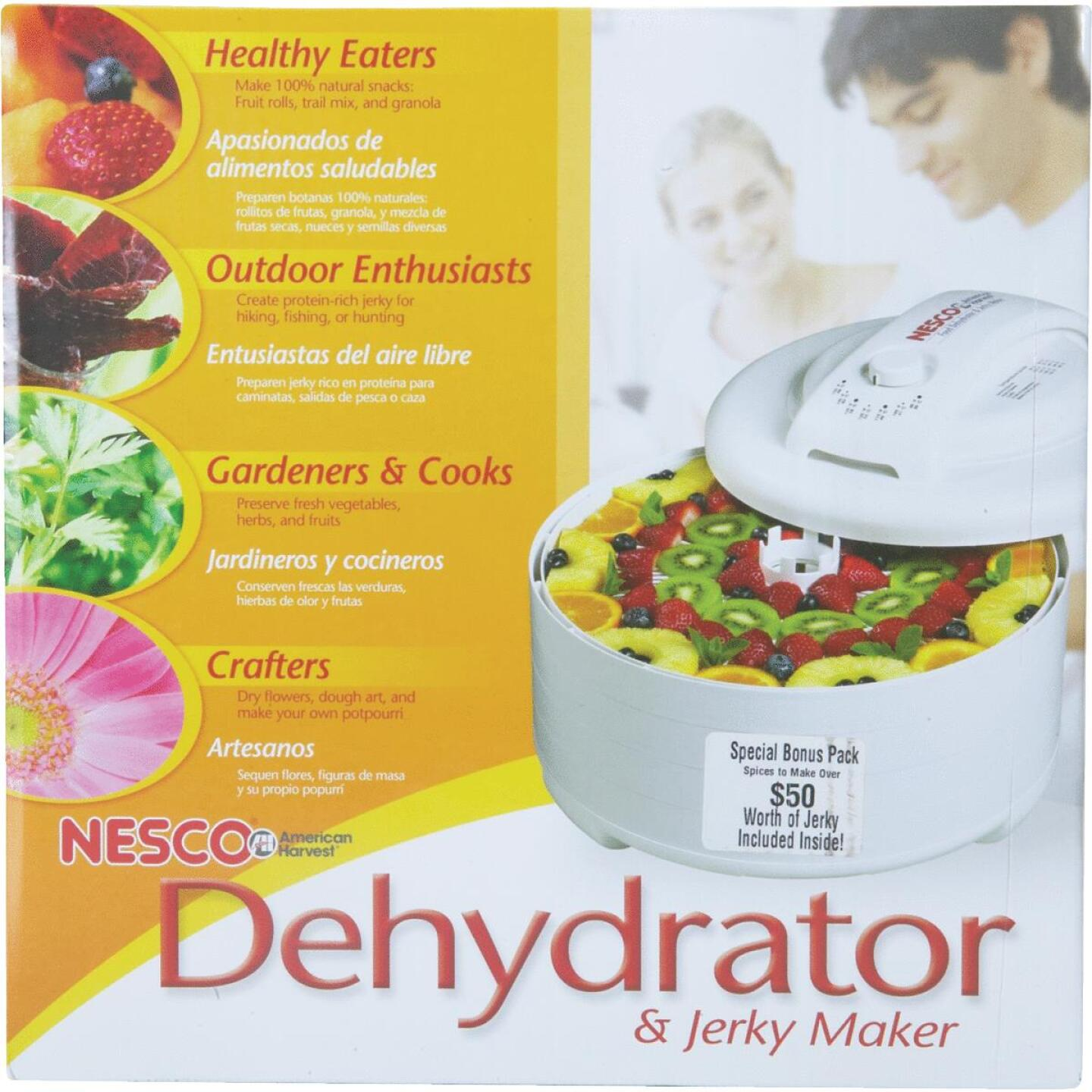 Nesco American Harvest Snackmaster Express Food Dehydrator Image 2