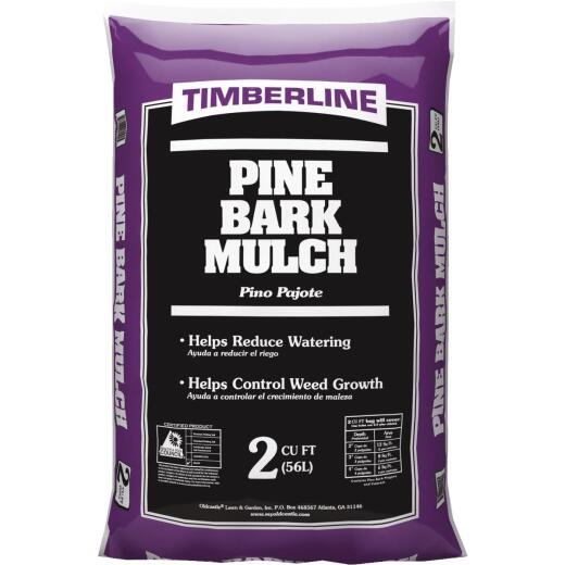 Timberline 2 Cu. Ft. Pine Mulch
