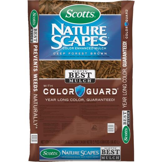 Scotts Naturescapes 2 Cu. Ft. Deep Forest Brown Shredded Hardwood Mulch