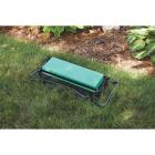 Best Garden Green Foam Pad w/Black Steel Frame Garden Kneeler Bench Image 8