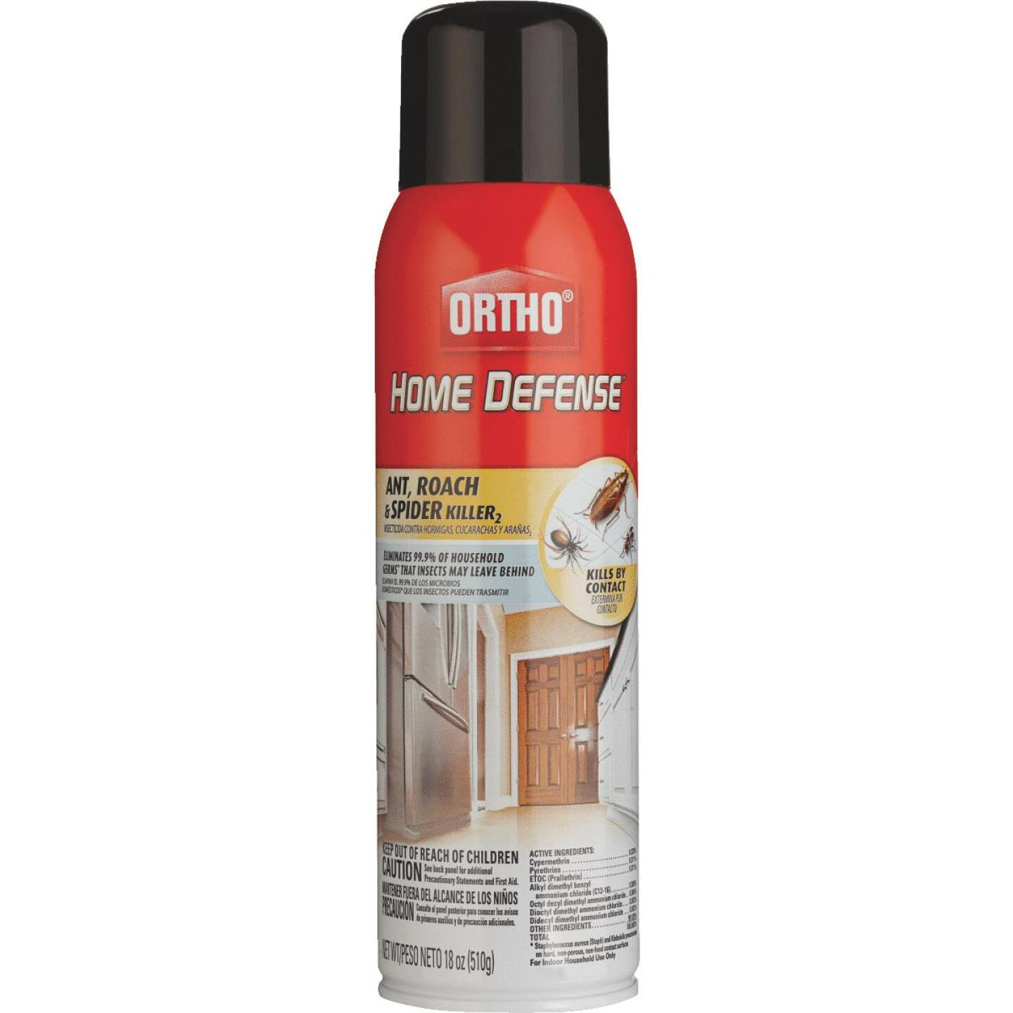 Ortho Home Defense 18 Oz. Aerosol Spray Ant & Roach Killer Image 2